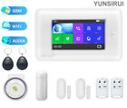 WiFi Touch Screen Home Alarm Security System Wireless SOS Accessories Sensor Set