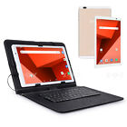"10"" INCH Android 7.0 Tablet PC 1+16GB ROM Quad Core WiFi+3G 2 SIM with Keyboard"