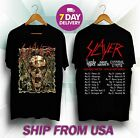 HOT RARE Slayer Final Tour 2019 Fifth leg north america vers T SHIRT S-5XL image
