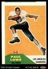 1960 Fleer #76 Paul Lowe Chargers GOOD $6.5 USD on eBay