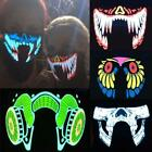 Kyпить LED Mask Rave EDC Dreamstate Luminous Flashing Half Face Light Up Dance Party на еВаy.соm
