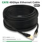 100% 50FT Authentic CAT8 40Gbps Optical Fiber Outdoor Ethernet Cable LAN Cord