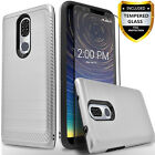 For Coolpad Legacy Phone Case, Drop Protection + Tempered Glass Protector