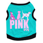 Dog Vest T-shirt Pet Clothing Cat Clothes X Small to Medium for Yorkie Teacup