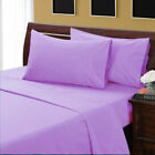 1000TC Best Egyptian Cotton Bedding Item Extra Deep Pocket Solid Cal- King Size