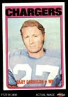 1972 Topps #192 Gary Garrison Chargers EX $0.99 USD on eBay