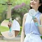 Mini USB Hand Fan Air Conditioner Cooler Led Light Portable Rechargeable Battery