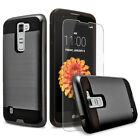 For LG Escape 3 Phone Case, Shockproof Cover+Screen Protector