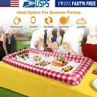 Inflatable Ice Serving Bar Pool Table Serving Salad Buffet Cooler Indoor/Outdoor