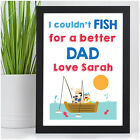 PERSONALISED Dad Fishing Gifts - Christmas Fishing Gifts for DADDY DAD GRANDAD