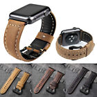 Genuine Leather Watch Band Strap Bracelet For Apple Watch Series 1 2 3 4 38/42mm