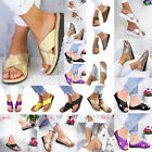 2019 Summer Soft Women's Ladies Fashion Comfy Platform Sandal Shoes Sizes 35-43