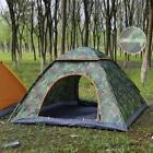 3-4 Man Persons Automatic Pop-Up Tent Outdoor Hiking Festival Camping Fishing UK