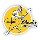 Milwaukee Brewers Retro Decal / Sticker Die cut on Ebay