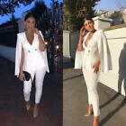 White Formal Pant Suits Women