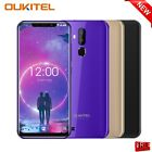 "Oukitel C12 6.18"" Quad Core 1.3ghz 3g Mobile Phone Android 8.1 2+16gb Dual Sim"