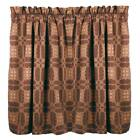 Smithfield Jacquard 36 Inch Curtain Tiers Red or Black