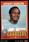 1971 Topps #148 Speedy Duncan Chargers Jackson St 3 - VG $1.1 USD on eBay