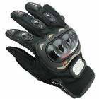Motorcycle Armor Touch Screen Motorbike Riding Gloves Mens Cruiser Biker Cycling