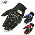 Touch Screen Motorcycle Motorbike Riding Gloves Mens Cruiser Biker Cycling Armor