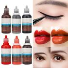 15ml Microblading Semi Permanent Eyebrow Lip Tattoo Makeup Pigment Ink-Emulsions