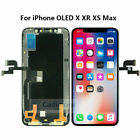 For iPhone X XR XS MAX LCD Display Touch Screen Digitizer Frame Replacement LOT