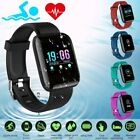 Smart Watch Bracelet Heart Rate Blood Fitness Tracker Waterproof For Android IOS