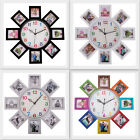 Wall Clock With 8-6x7 cm Photo Frame Best Gift For Your Loved One