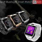 DZ09 Bluetooth Smart Watch Camera Phone GSM SIM For IOS iPhone Android Samsung image