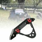 Metal Front Bumper With Light For Traxxas Axial Trx-4 Scx10 Rc Car Spare Parts X