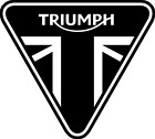 2 x Triumph Logo Motorcycle Race Vinyl Sticker Tank Car Laptop Motor Home Decals £1.75 GBP on eBay