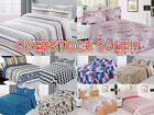 Reversible Quilted 3-Piece Printed Bedspread Coverlet Bedding Set OVERSTOCK SALE