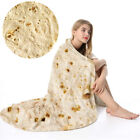 "Baby Adult Travel Camping Tortilla Blanket Burrito 60"" Corn and Flour Tortilla image"