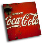 Retro Coca Cola Cool Square Abstract Photo Canvas Wall Art Large Picture Prints £12.99  on eBay