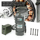 AC 220V 120W Gear Reduction CW/CCW Motor Adjustable Speed +Gearbox Governor stw