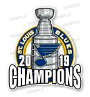 St Louis Blues 2019 Champions Precision Cut Decal $3.49 USD on eBay