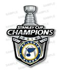 St Louis Blues  2019 Champions Precision Cut Decal $4.49 USD on eBay