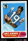1968 Topps #193 Lance Alworth Chargers EX/MT $20.5 USD on eBay
