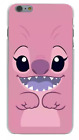 Couple Matching Lilo & Stitch 1 2 3 Cartoon Hard Cover Case For iPhone Huawei