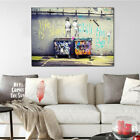 Color Animal Figure Abstract Wall Art Oil Painting Canvas Painted Poster NEW