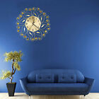 1Pc Large Wrought Iron Wall Clock Creative Mute Wall Clock for Home Office Decor