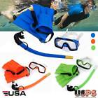 Yosoo Kids Diving Mask Snorkel&Glasses&Fins Set Silicone Swimming Pool Equipment
