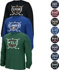 "NHL Adidas Men's ""Instinctive"" Team Graphic Long Sleeve T-Shirt Collection $13.3 USD on eBay"
