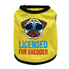 Small Dog Clothing Pet Puppy T Shirt Apparel Clothes Vest for Toy Poodle Yorkie