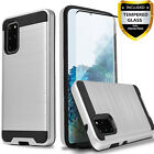 For Samsung Galaxy S10 Plus S10e S9 S8 Active Case +Tempered Glass Protector