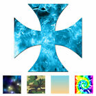 Cross Pattee - Vinyl Decal Sticker - Multiple Patterns & Sizes - Ebn180