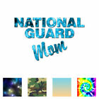 National Guard Mom - Vinyl Decal Sticker - Multiple Patterns & Sizes - Ebn1220