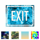 Exit Business Sign - Vinyl Decal Sticker - Multiple Patterns & Sizes - Ebn4020