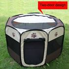 Pet Dog Cat Tent  Cage Folding Kennel Puppy Playpen Ultra-large Space US, used for sale  Dayton