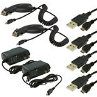 2X Car Charger+2X Wall Travel Charger+2X USB Cable Accessories for Cell Phones